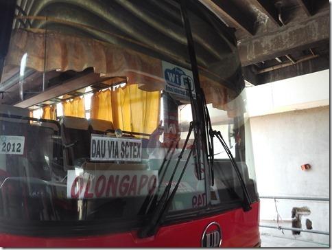 ビクトリーライナーバス(オロンガポ行)