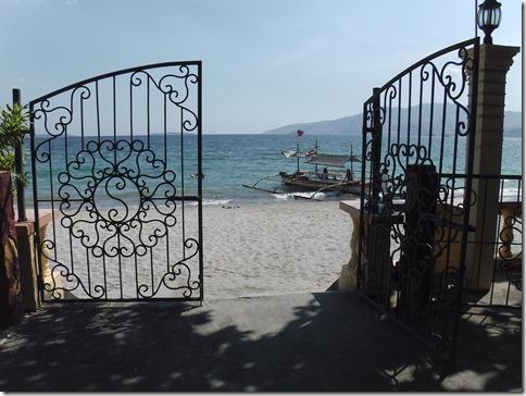 バリオバレットのビーチ