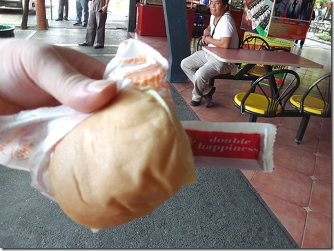 ルバオで買ったチーズバーガー