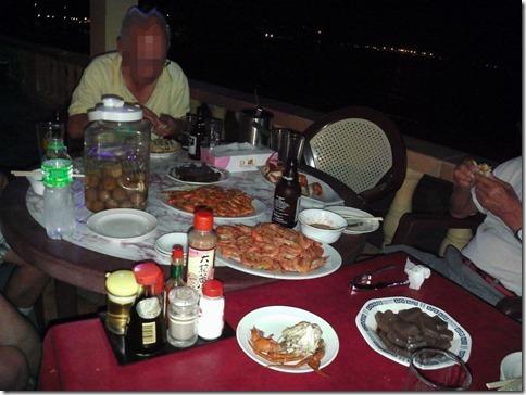 鈴木社長とお仲間との晩餐