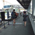 マニラ国際空港ターミナル3(NAIA3)出発ロビーにあるメータータクシー乗り場の場所